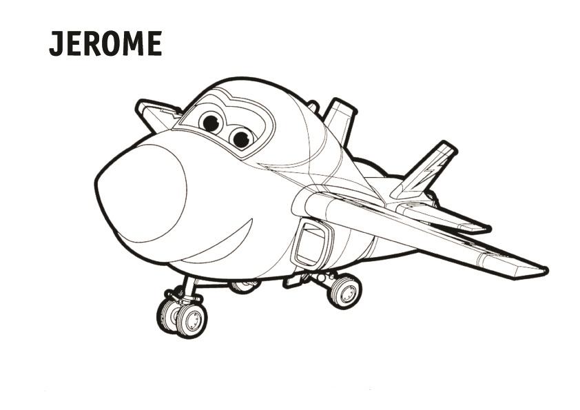 Dibujos Animados Para Colorear En El Ordenador: Dibujos De Super Wings Para Colorear, Pintar E Imprimir
