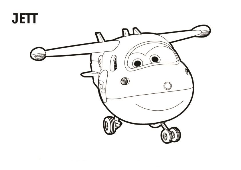 Niños Para Colorear E Imprimir: Dibujos De Super Wings Para Colorear, Pintar E Imprimir