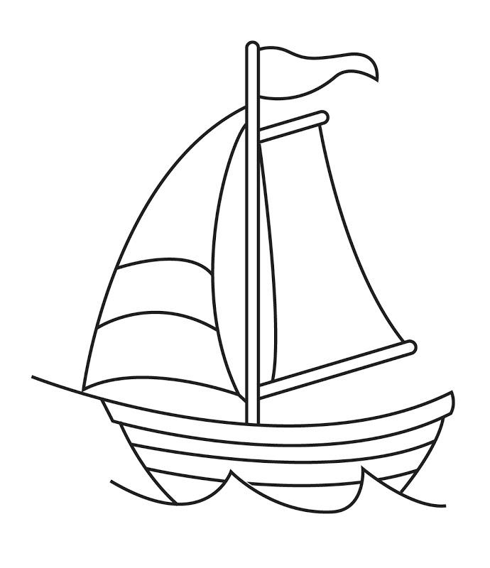 dibujos de barcos para colorear  pintar e imprimir gratis