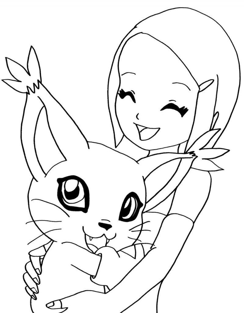 Dibujos de Digimon para colorear