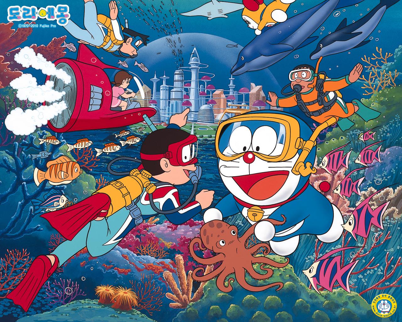 Fondos de pantalla de Doraemon, Wallpapers HD Gratis