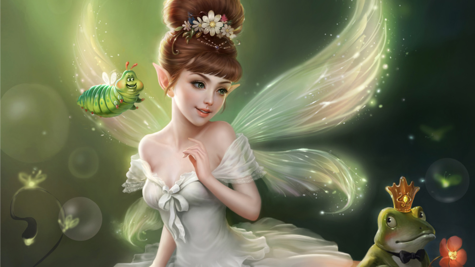 Fairies and angels wallpapers