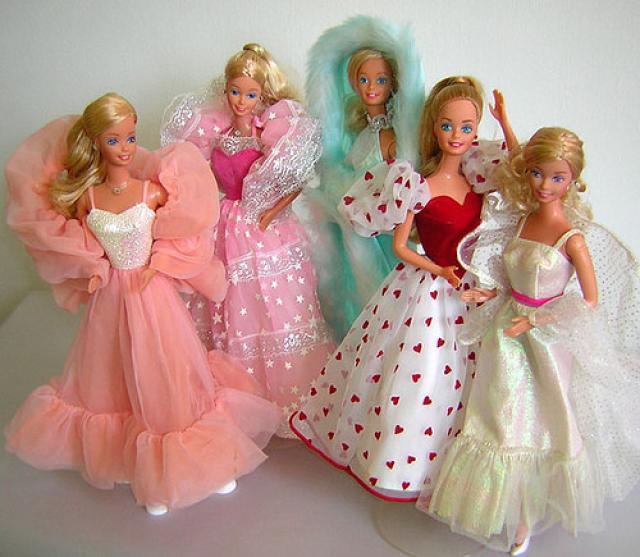 Barbie de los 80