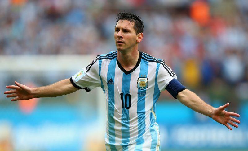 Fondos de pantalla de Leo Messi en la Selección Argentina, wallpapers