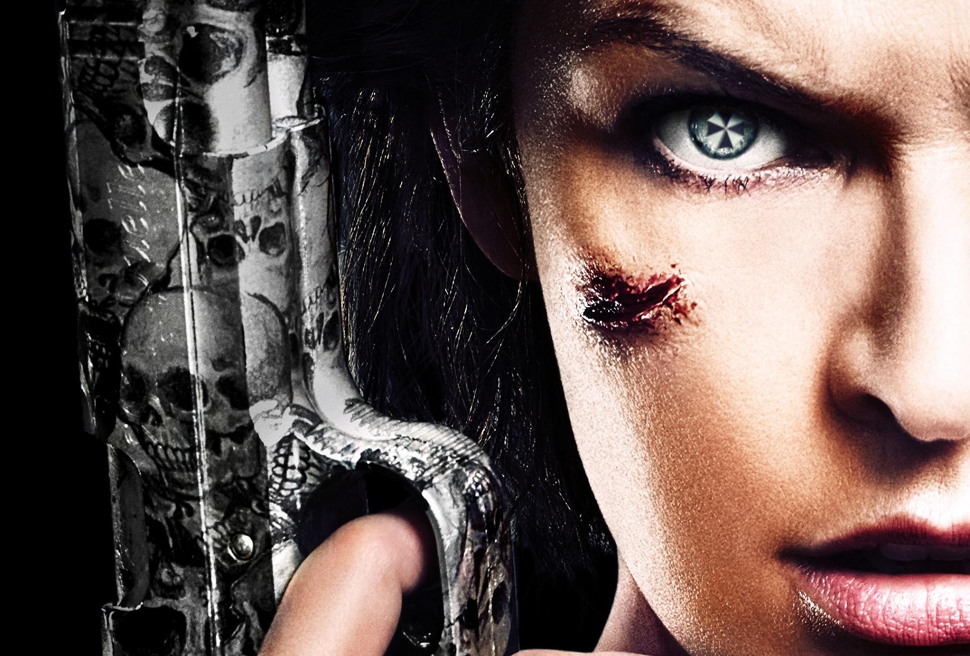 Fondos de Pantalla de ... Milla Jovovich Resident Evil
