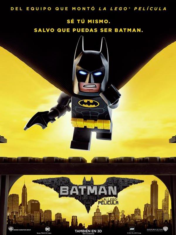 Batman la lego pelicula 2017 poster oficial