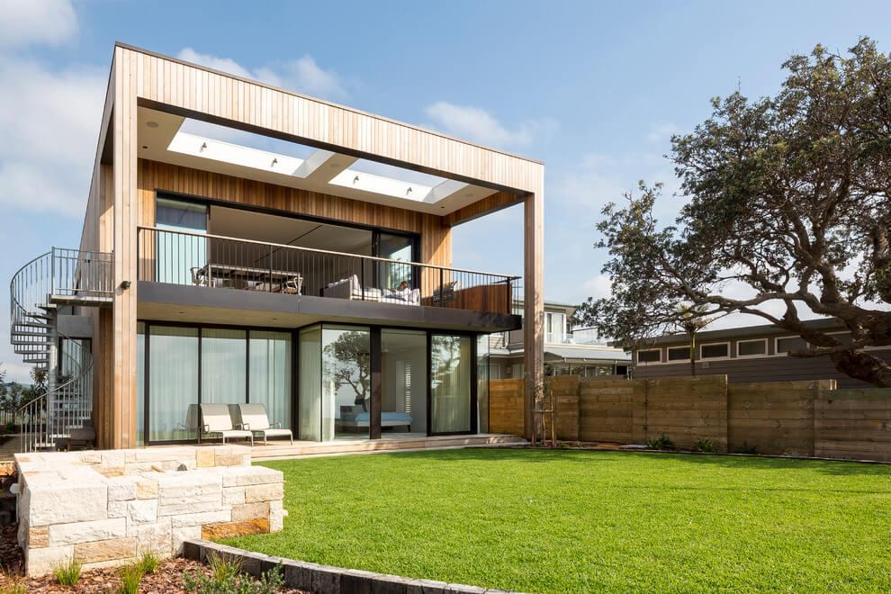65 imagenes de fachadas de casas modernas minimalistas y for Los mejores techos de casas