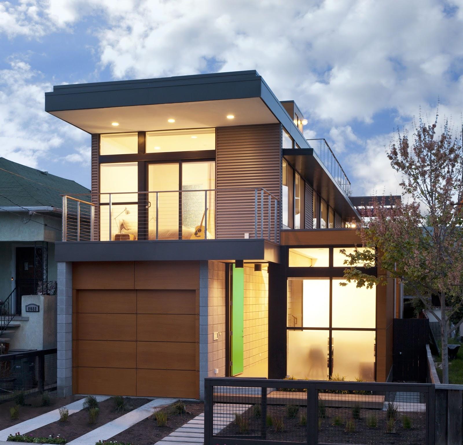 65 imagenes de fachadas de casas modernas minimalistas y for Fachadas de casas de 2 pisos pequenas