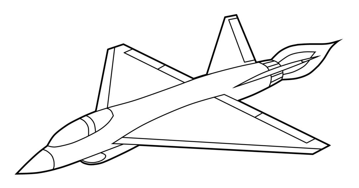 Dibujos de Aviones para colorear e imprimir gratis