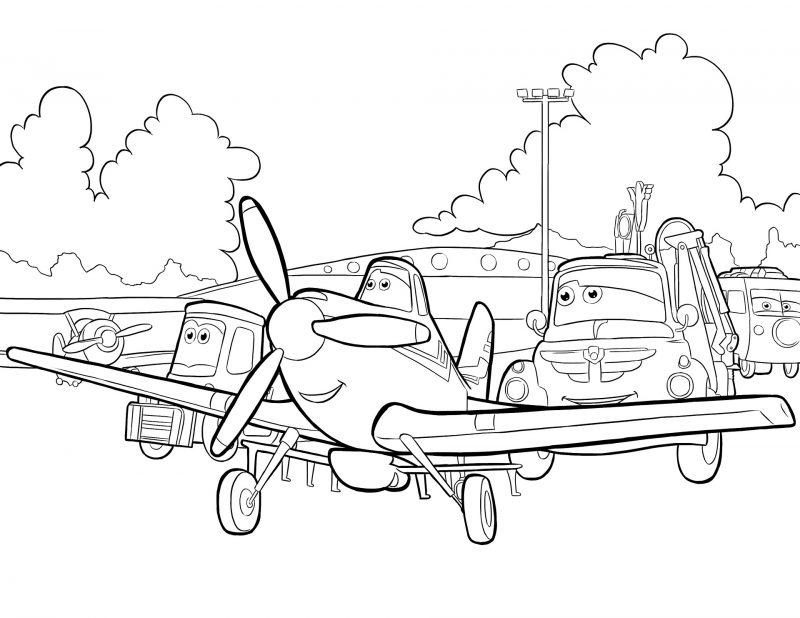 Dibujos De Gorjuss Santoro Para Colorear E Imprimir Gratis: Dibujos De Aviones Para Colorear E Imprimir Gratis