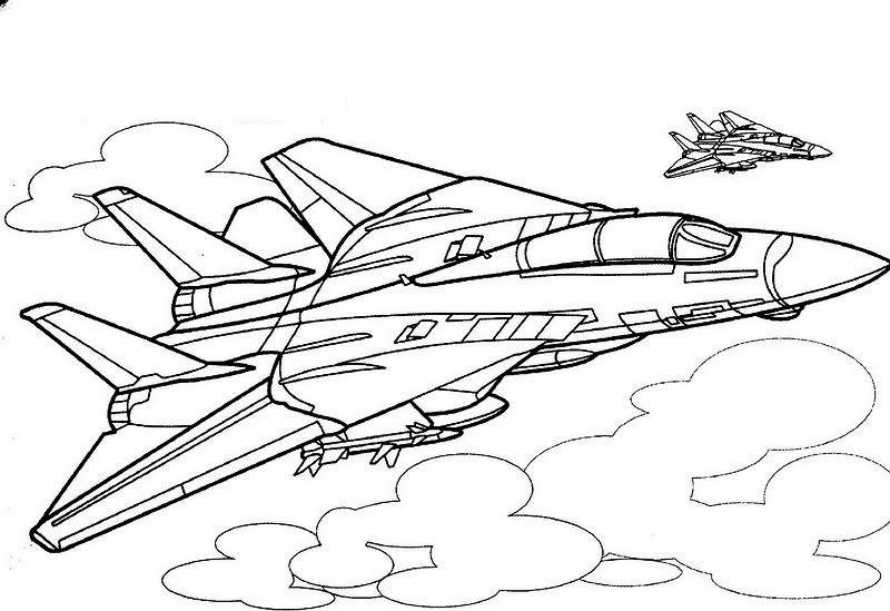 stealth bomber coloring pages - photo#26