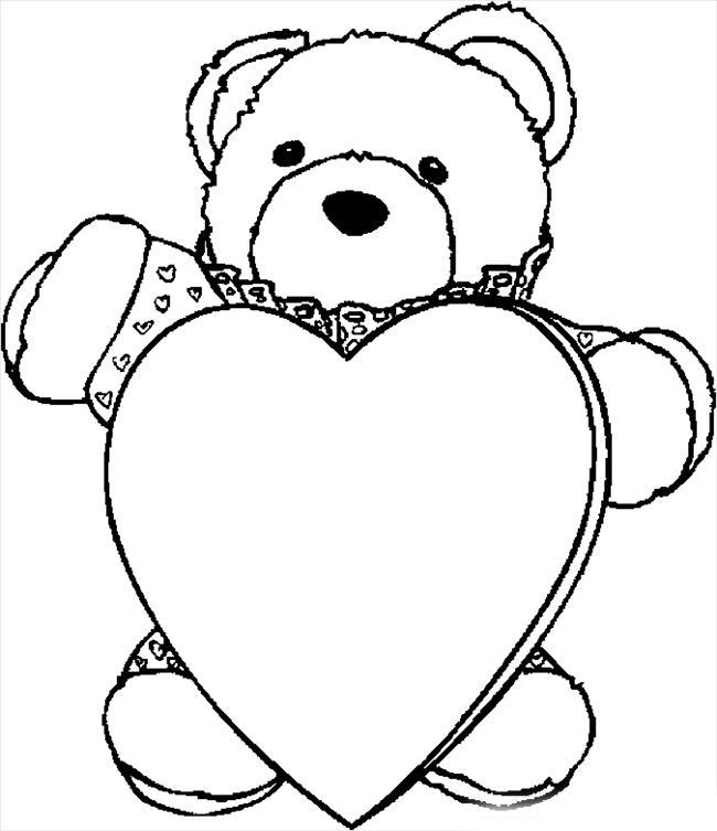 18 Dibujos de corazones de amor para colorear, pintar e imprimir