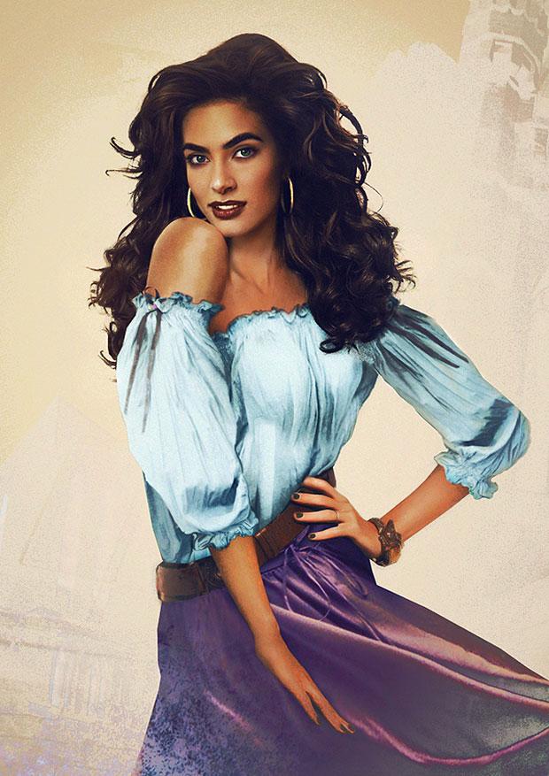 Esmeralda, del Jorobado de Notre Dame