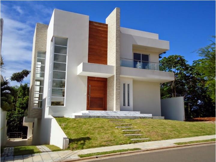 65 imagenes de fachadas de casas modernas minimalistas y for Fachadas de casas nuevas modernas