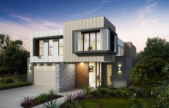 65 imagenes de fachadas de casas modernas minimalistas y for Fotos de casas modernas tipo 2