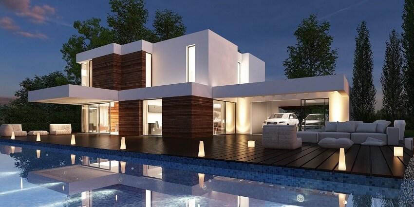 65 imagenes de fachadas de casas modernas minimalistas y ForLas Mejores Fachadas De Las Villas
