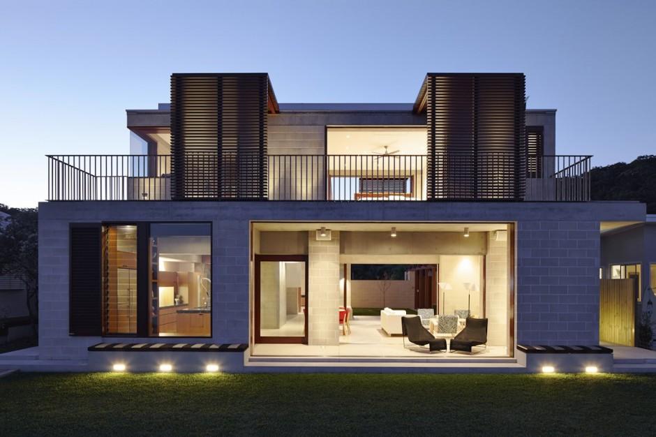 65 imagenes de fachadas de casas modernas minimalistas y for Fachadas de ventanas para casas modernas