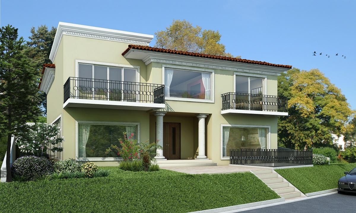 65 imagenes de fachadas de casas modernas minimalistas y for Fachadas de casas interiores