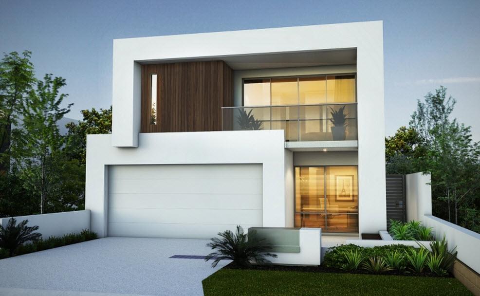 65 imagenes de fachadas de casas modernas minimalistas y for Casas de diseno imagenes