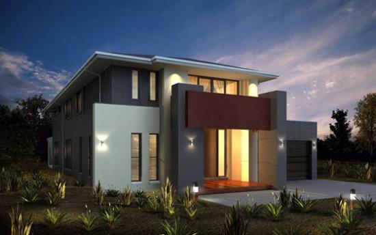 Imagenes de fachadas de casas modernas y minimalistas for Fachadas de viviendas modernas