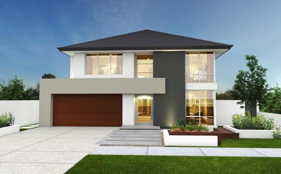 Imagenes de fachadas de casas modernas y minimalistas for Modelo de fachadas para casas modernas