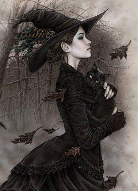 24 Imgenes de Brujas bonitas bellas y hermosas