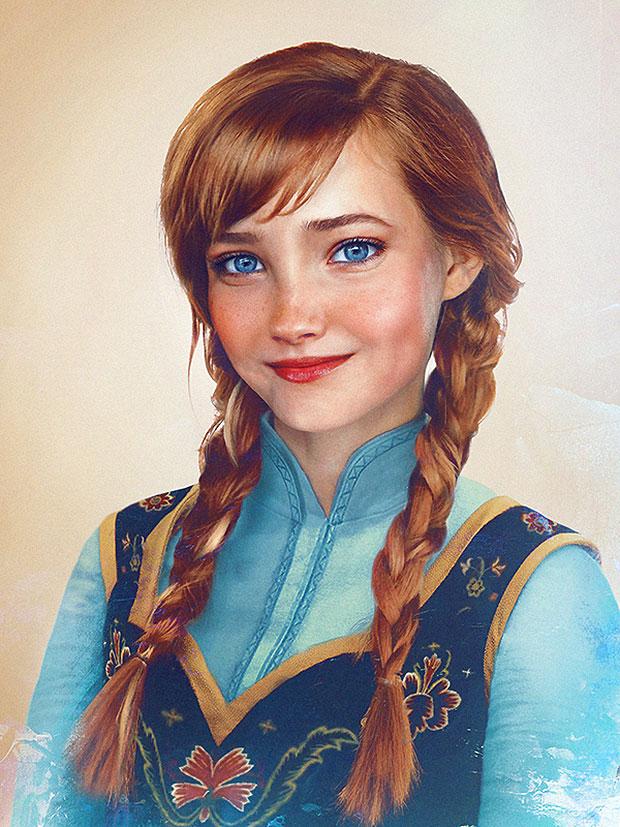 Princesa Anna de Frozen