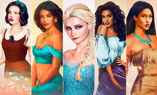 Imágenes de Princesas Disney Reales