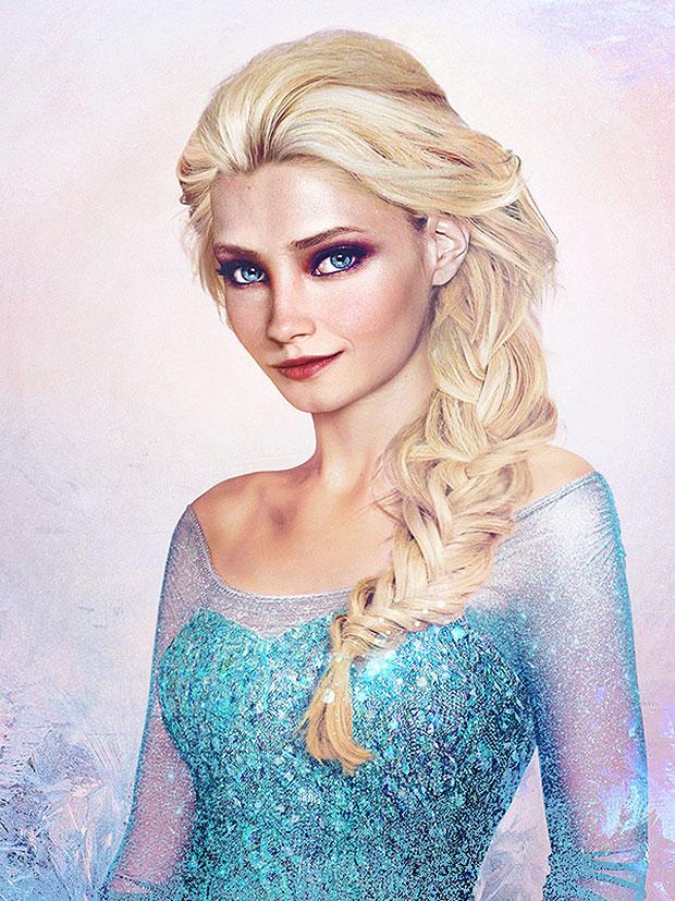 Reina Elsa de Frozen