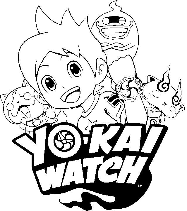 Dibujos De Yo Kai Watch Para Colorear