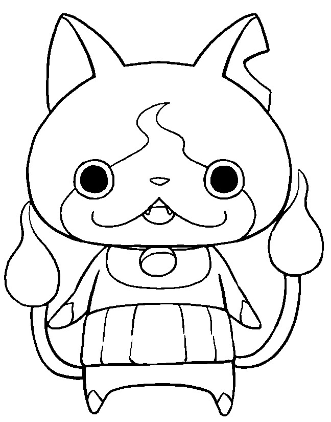 yoki coloring pages - photo#32