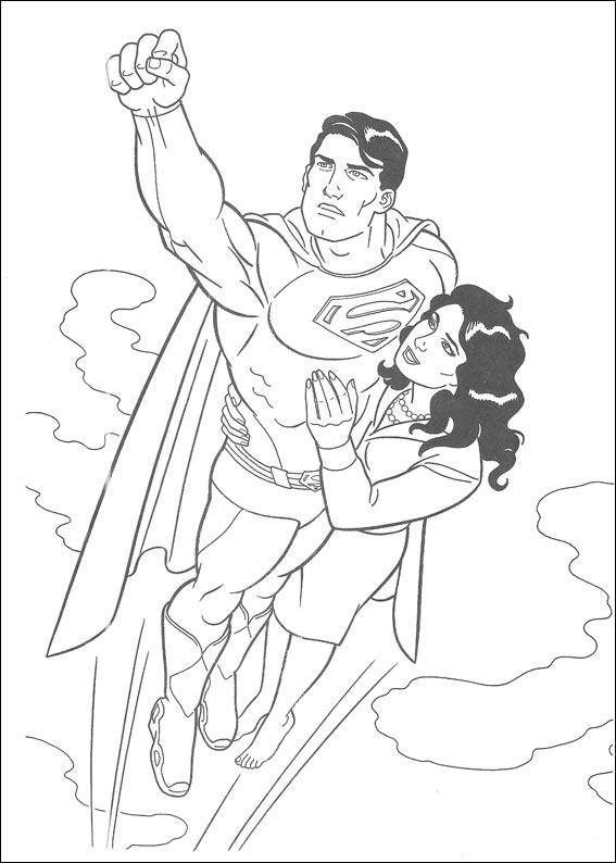 Dibujos De Superman Para Colorear Pintar E Imprimir Gratis