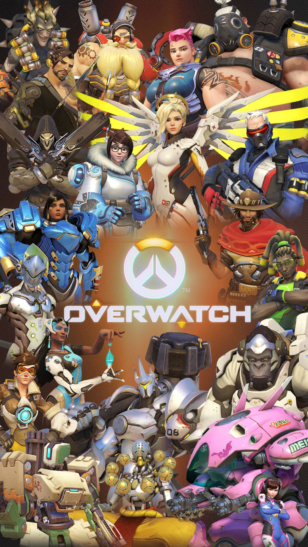 Fondos de overwatch para android e iphone wallpapers for Wallpapers para android