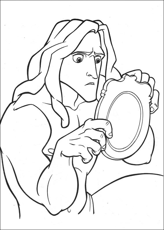Dibujos de Tarzan para colorear