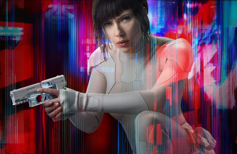 ghost in the shell 2017 wallpapers