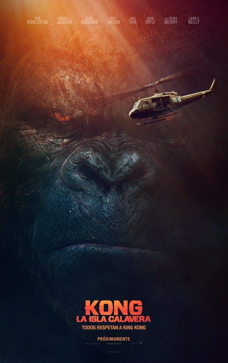 Kong: la isla Calavera 2017 cartel promocional