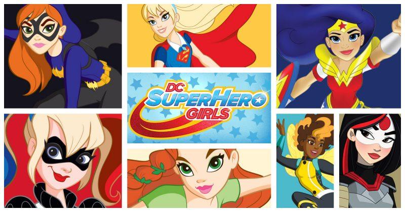 Imágenes de DC Super Hero Girls