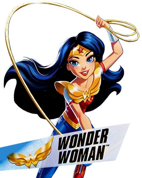 Imágenes de Wonder Woman DC Super Hero Girls