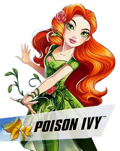 Imágenes de Poison Ivy DC Super Hero Girls