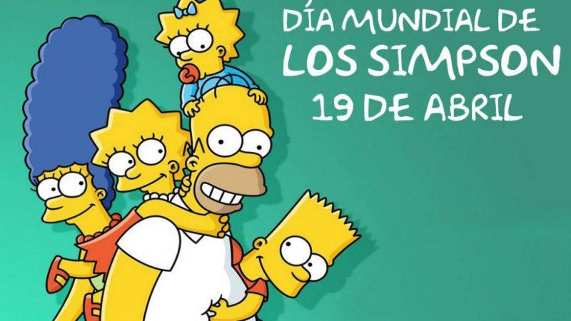 Día Mundial de Los Simpsons 19 de Abril