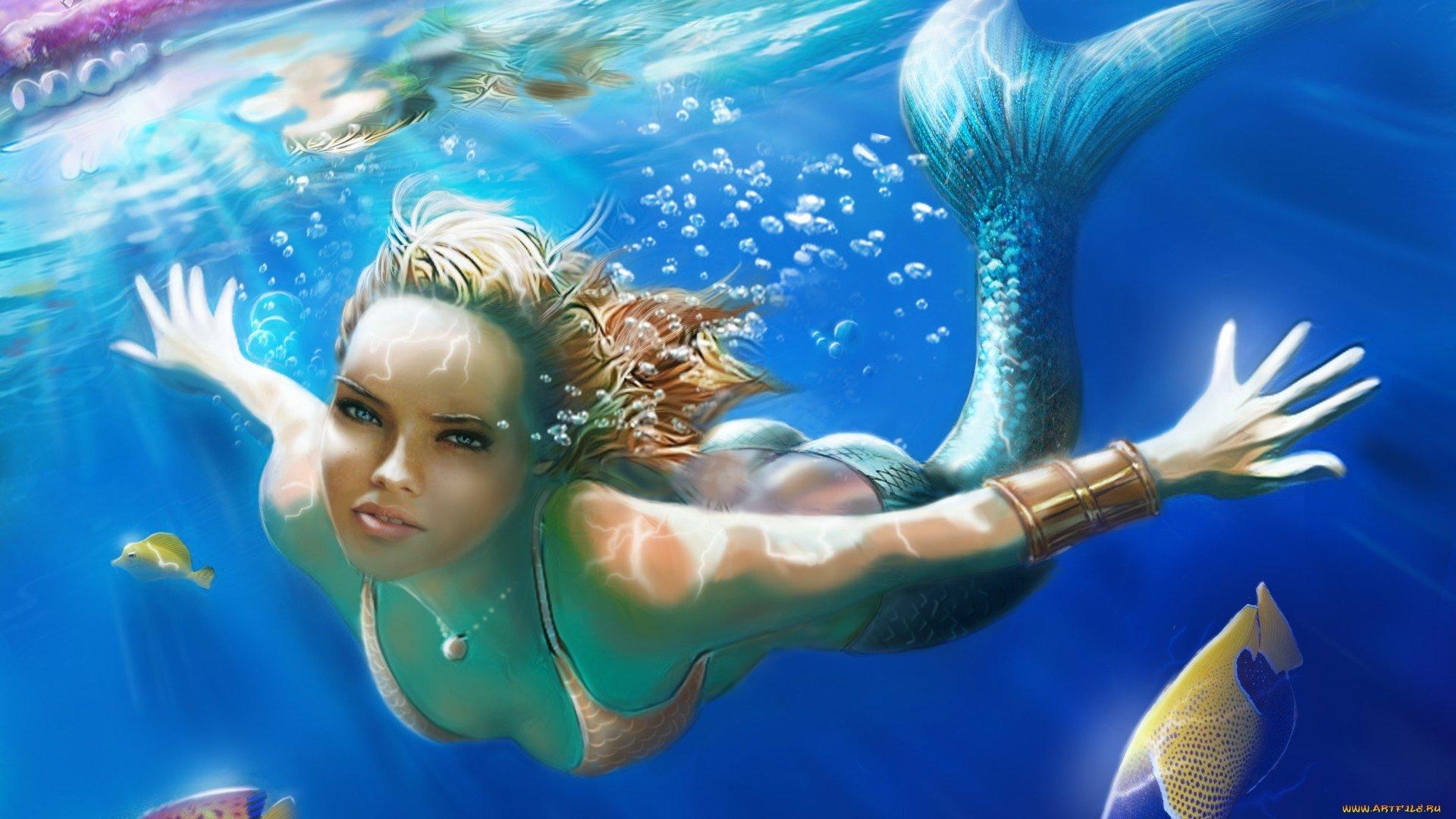 Hd Wallpapers: Fondos De Pantalla De Sirenas Hermosas, Wallpapers HD Gratis