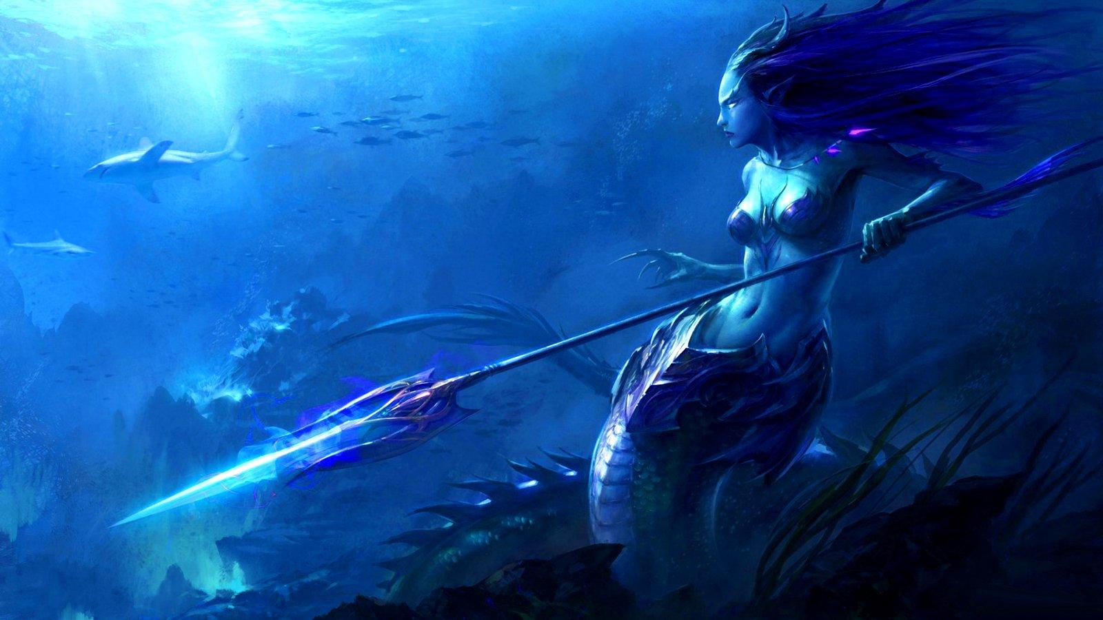 Fondos De Pantalla De Sirenas Hermosas, Wallpapers HD Gratis