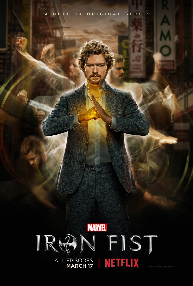 Iron Fist, Puño de Hierro Marvel serie de Netflix