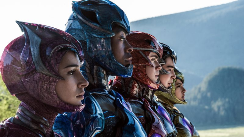 power rangers 2017 movie wallpapers