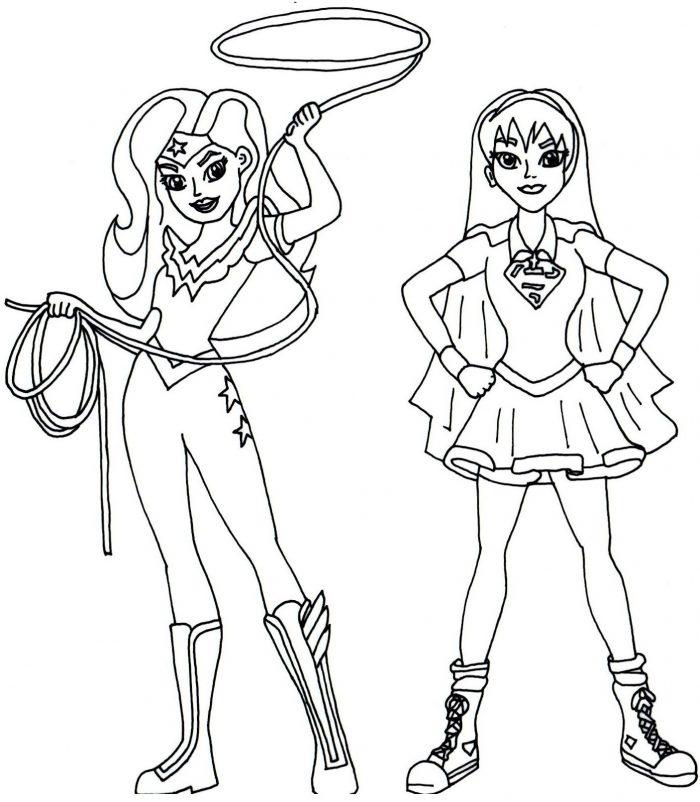 Dibujos de DC Super Hero Girls