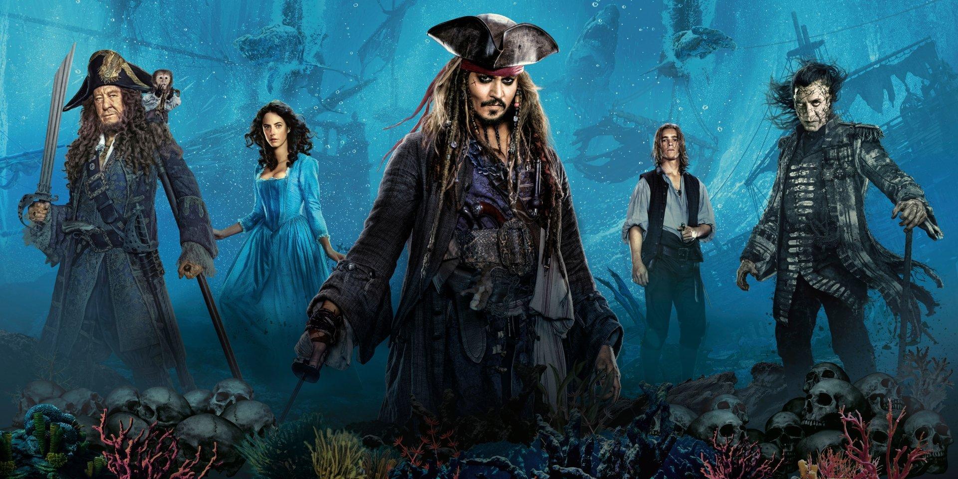 Fondos de Piratas del Caribe 5, Wallpapers Pirates of the Caribbean 2017