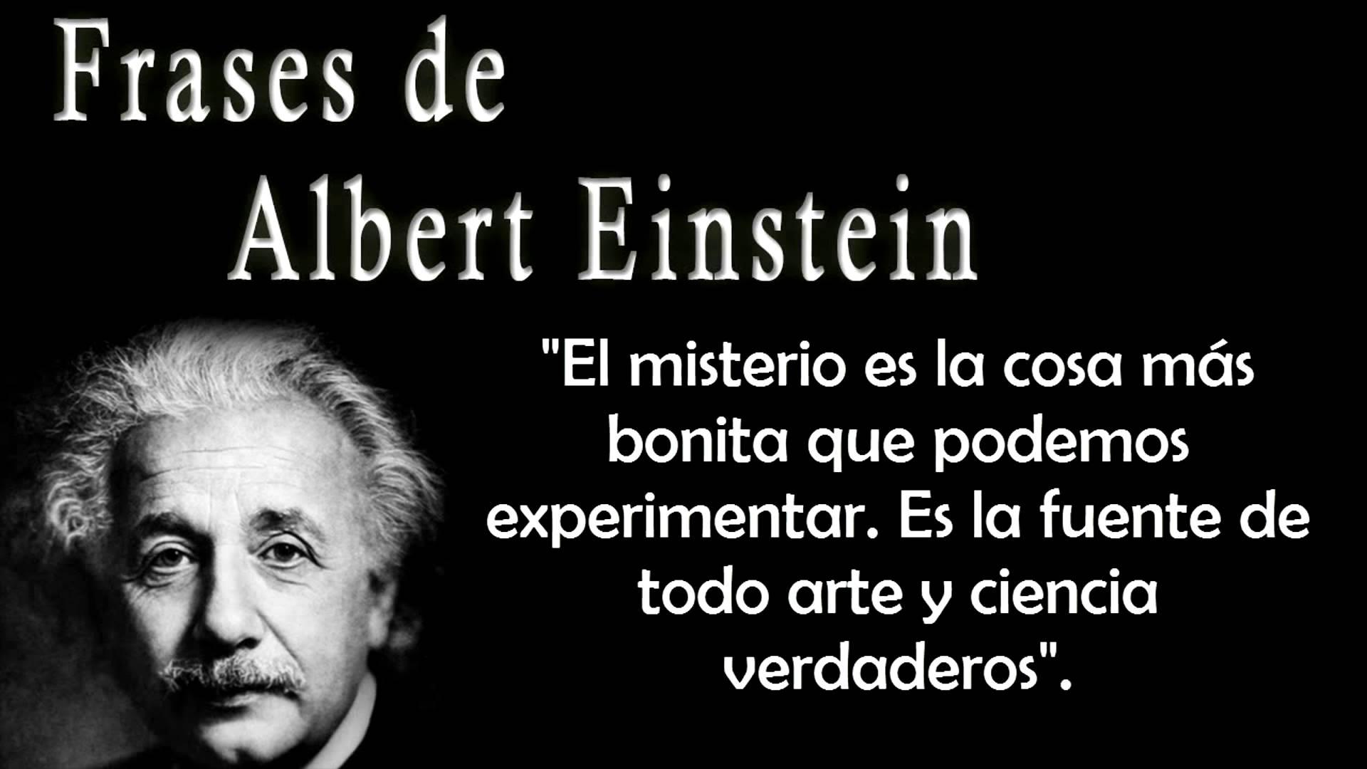 Frases Celebres De Einstein Sobre El Amor Mejor Casa Sobre Frases