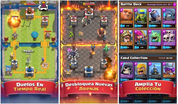 Clash Royal Pantallas Gameplay