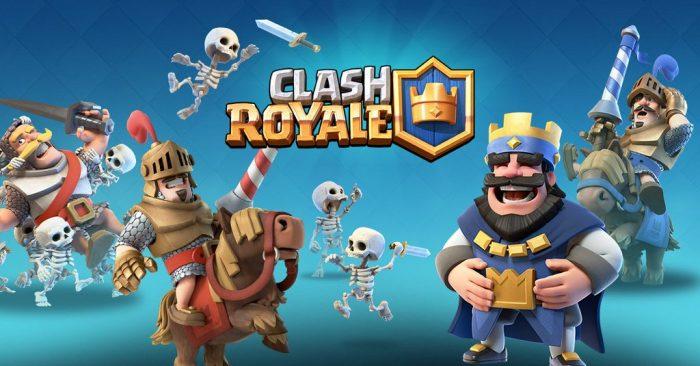 Clash Royale, caratula y logo