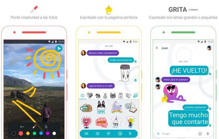 Google Allo, aplicación de mensajería instantanea para celulares
